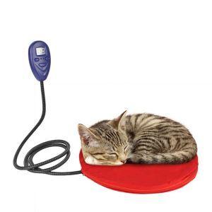 ペット用電熱パッド 加熱マット ホットカーペット 電気ヒーター 過熱保護 寒さ対策