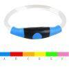 ペット首輪 LED発光首輪 光る USB充電 お散歩 夜道の安全 視認性抜群 注目度満点 事故防止
