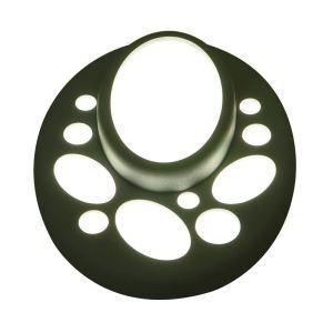 LEDシーリングライト 照明器具 間接照明 玄関照明 天井照明 子供屋照明 LED対応 灰色 楕円形
