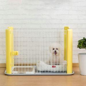 ペットサークル ペットケージ ペットフェンス 柵ガード 脱走防止 室内 侵入防止 組立簡単