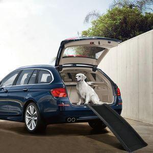 ペット用スロープ 車用 ドライブスロープ ステップ 折り畳み可能 子犬 老犬 胴長短足 犬猫用