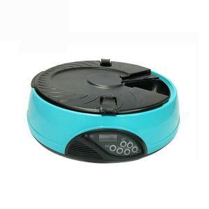 ペット用自動給餌器 オートペットフィーダー 6回分 餌やり機 定時給食 出張 旅行 留守用