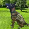 犬用ハーネス 訓練服 しつけ ジャケットベスト 胴輪 引っ張り防止 ポーチ付き 大型犬