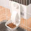 ペット自動給餌器 オートフィーダー ペット食器 定時 定量 赤線センサー スマート ケージ掛け式