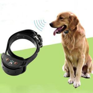 無駄吠え防止首輪 トレーニングカラー 伸縮首輪 しつけ用 電撃 警告音で制御