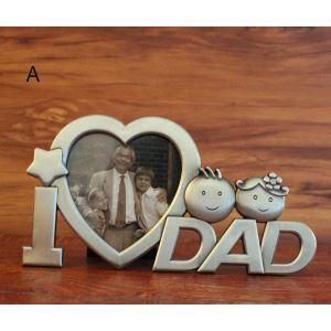 写真立て フォトフレーム 写真用額縁 インテリアフレーム フォトデコレーション オシャレ 1枚 Mom/Dad