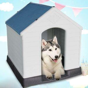 ペットハウス 犬の部屋 室外 犬ケース 取り外し可能 防雨 日焼け止め 通気 ドアなし