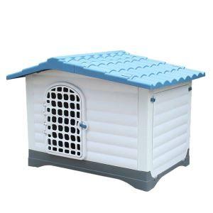 ペットハウス 犬の部屋 室外 犬ケース 取り外し可能 中型犬 大型犬 防雨 プラスチック ドア付き