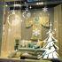 ウォールステッカー 転写式ステッカー PVCシール シート 剥がせる 平面DIY クリスマス 雪花・クリスマスツリー