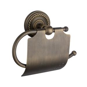 トイレットペーパーホルダー 紙巻器 トイレ用品 ペーパー収納 バスアクセサリー 真鍮製 ブラス色