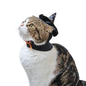 ペット服 ハロウィン 変身服 魔女 シャーマン  帽子 コスプレ 可愛い コスチューム 犬猫用