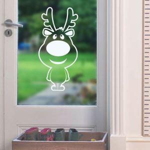 ウォールステッカー 転写式ステッカー PVCシール シート式 壁窓 剥がせる クリスマス柄 ナトカイ