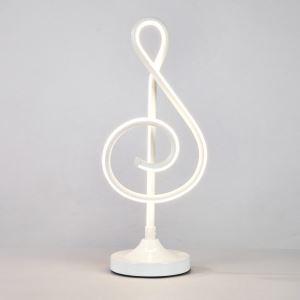 LEDテーブルランプ スタンドライト 間接照明 寝室 リビング ダイニング オシャレ LED対応 音符型 YLCTB082