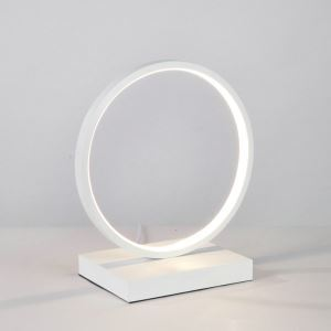 LEDテーブルランプ スタンドライト 間接照明 寝室 リビング ダイニング オシャレ LED対応 円環型 YLCTB10