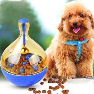 ペットおもちゃ 餌入れボール 餌やりおもちゃ 知育玩具 おやつ こぼし 早食い防止 ストレス解消