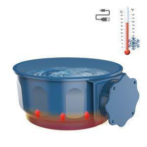 ペット用加熱ボウル 暖かい食器 加熱機能 保温 寒さ対策 ご飯入れ 水入れ 犬猫用
