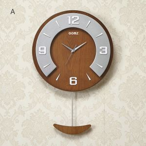 時計 壁掛け時計 静音時計 クロック 木質 現代的 シンプル MP18002