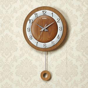 時計 壁掛け時計 静音時計 クロック 木質 現代的 シンプル MP18064