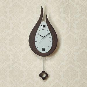 時計 壁掛け時計 静音時計 クロック 木質 現代的 シンプル MP18062
