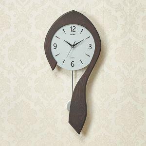 時計 壁掛け時計 静音時計 クロック クロック 木質 現代的 シンプル MP18061