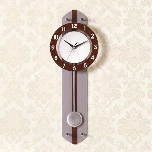 時計 壁掛け時計 静音時計 クロック 現代的 アクリル 振り子 創意 AP18010
