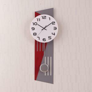 時計 壁掛け時計 静音時計 クロック 現代的 アクリル 創意 AP16007