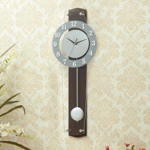 時計 壁掛け時計 静音時計 クロック 現代的 アクリル 振り子 創意 AP17061