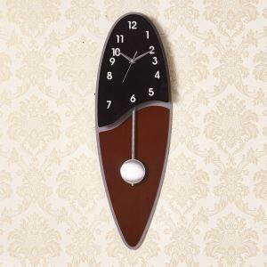 時計 壁掛け時計 静音時計 クロック 現代的 アクリル 長円形 創意 AP18003