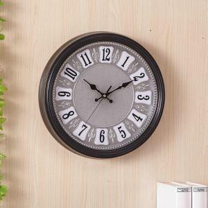 時計 壁掛け時計 静音時計 クロック 現代的 プラスチック 円形 シンプル AW15064