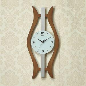 時計 壁掛け時計 静音時計 クロック 現代的 木質 創意 MW18053