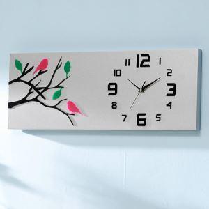 時計 壁掛け時計 静音時計 クロック 現代的 アクリル AW16030