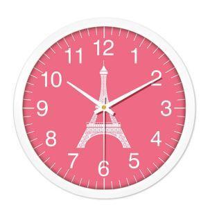 時計 壁掛け時計 静音時計 クロック プラスチック 北欧 現代的 インテリア 25cm SS1001