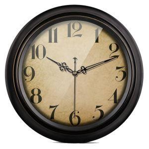 時計 壁掛け時計 静音時計 クロック 金属 北欧 レトロ インテリア 35/40cm CS012