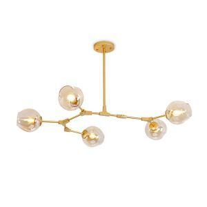 ペンダントライト 天井照明 照明器具 店舗照明 リビング照明 寝室照明 カントリー風 琥珀色 5灯 CLB11792 在庫セール