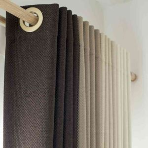 遮光カーテン オーダーカーテン 寝室 リビング 純色 現代風 1級遮光カーテン(1枚)