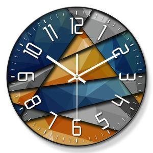 時計 壁掛け時計 静音時計 クロック 金属/PVC 北欧 現代的 インテリア 30cm ER54127