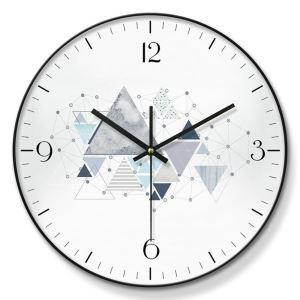 時計 壁掛け時計 静音時計 クロック 金属/PVC 北欧 現代的 インテリア 30cm ER54124