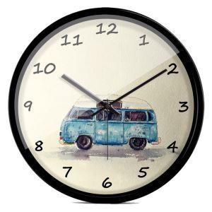 時計 壁掛け時計 静音時計 クロック 金属 北欧 現代的 車柄 インテリア 30/35cm CT052