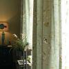 遮光カーテン オーダーカーテン 捺染 小鳥柄 綿麻 北欧(1枚)