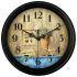 時計 壁掛け時計 静音時計 クロック 金属 北欧 レトロ インテリア 35cm F6/F7/F2