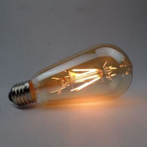 LED電球 バルブ レトロ 口金E26 ST64 4W LED対応 2個入り