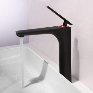 洗面蛇口 バス水栓 冷熱混合栓 手洗器蛇口 立水栓 水道蛇口 水栓金具 黒色 HAYT