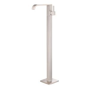 床置きシャワー水栓 床立ち上げ式浴槽蛇口 バス水栓 冷熱混合栓 水道蛇口 ヘアライン HAY