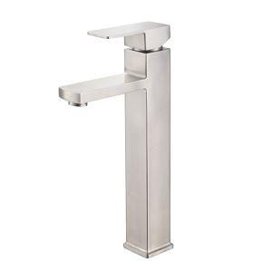 洗面水栓 バス水栓 浴室蛇口 冷熱混合栓 立水栓 水道蛇口 ヘアライン ステンレス製