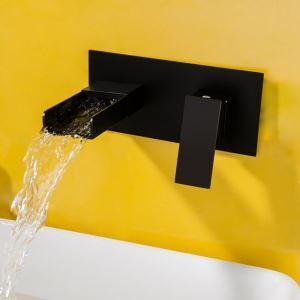 壁付水栓 バス蛇口 洗面水栓 冷熱混合栓 手洗い器蛇口 水道蛇口 水栓金具 ORB
