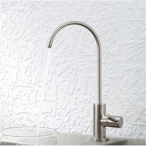 キッチン水栓 台所蛇口 単水栓 浄水器用水栓 水道蛇口 ステンレス鋼 ヘアライン