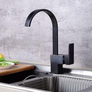 キッチン蛇口 台所蛇口 冷熱混合栓 水道蛇口 水栓金具 回転可能 ORB