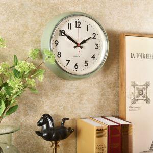 時計 壁掛け時計 静音時計 クロック 金属 北欧風 シンプル 創意 インテリア 28cm HG307