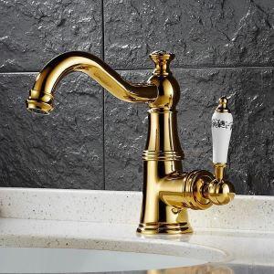 洗面蛇口 バス水栓 冷熱混合栓 手洗器蛇口 立水栓 水栓金具 置き型 HAY
