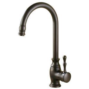 キッチン水栓 台所蛇口 冷熱混合栓 水道蛇口 水栓金具 回転可能 ORB